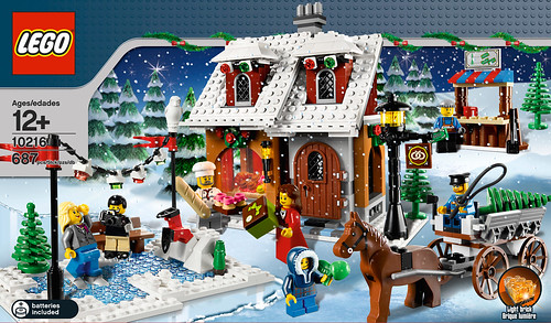 10216 Winter Village Bakery Box