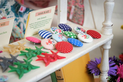 Pretty Brooches @ Vintage at Goodwood