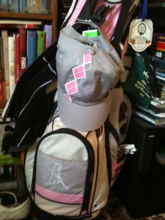 hat golf bag