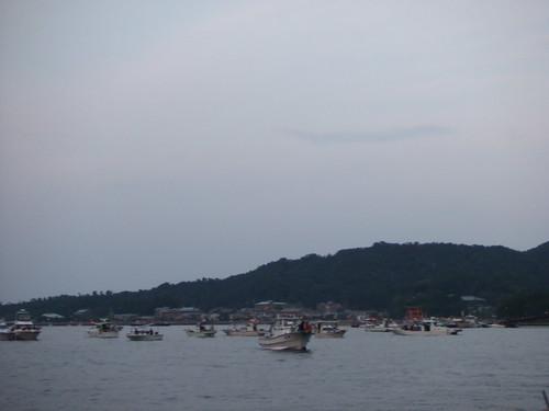 宮島水中花火大会 2010 画像4