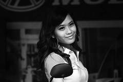 The motorbike girl @ Bukit Bintang KL (arylana) Tags: blackandwhite bw model prettygirl asiangirl racequeen malaygirl prettyasiangirl motorgirl autogirl prettymalaygirl