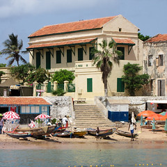 On the shores of Goree
