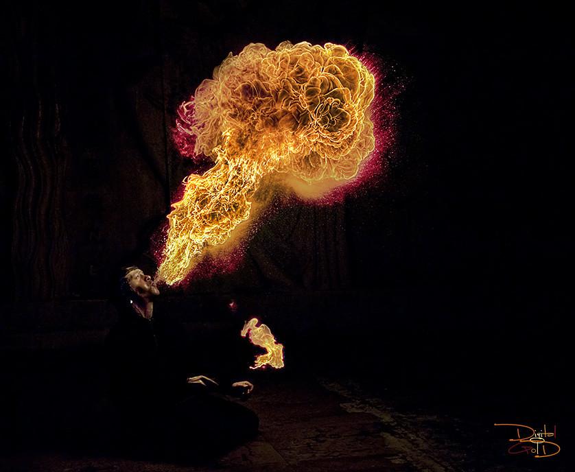 Atomic Mushroom - Parisian Fire Breather