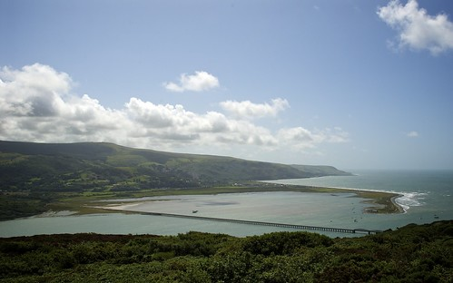 Looking Out To The Mouth Of The Mawddach