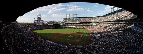 Rockies & Brewers Panorama