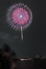 第23回東京湾大華火祭 三重芯散花