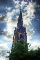 church (pepemczolz) Tags: old church lens sony gothic sigma historic alpha hdr 28300mm huddersfield birkby a350