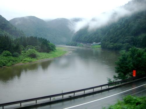 最上川/Mogami River
