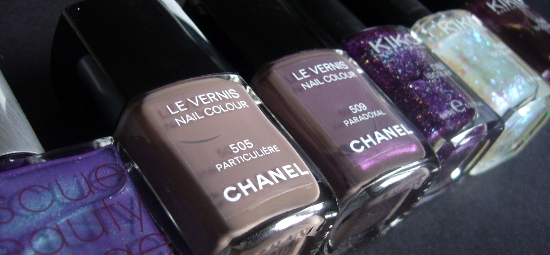 Rescue Beauty Lounge RBL Scrangie Chanel Paradoxal Les Contrastes des Chanel 2010 Limited Edition Chanel Particulière Kiko Nail Polish