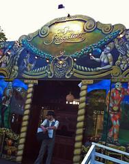 Entrance to the Spiegel Tent at Edinburgh's Spiegel Garden