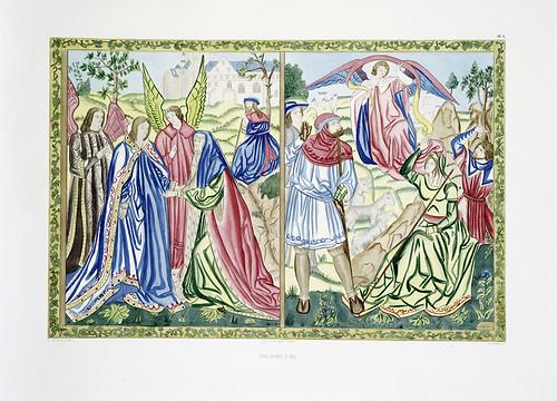010-Tapiceria de Aix-Les anciennes tapisseries historiées…1838- Achille Jubinal