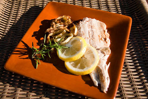 Hickory Smoked Rosemary & Lemon Rainbow Trout