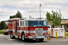 SCC Fire Engine 2 (YFD) Tags: canon fire action 911 firetruck pierce fireengine emergency ems firedepartment sanmartin morganhill pumper calfire eos7d