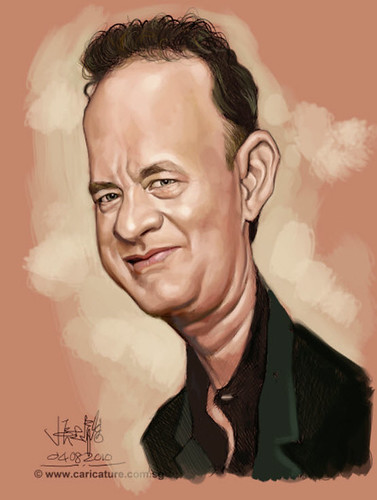 Schoolism - Assignment 1 - Caricature of Tom Hanks - 02 small