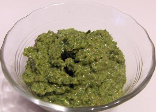 Mustard Green Pesto