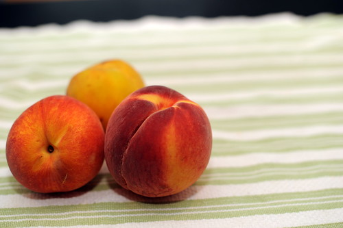 fragrant summer peaches