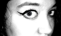 my blue eyes (karola_92) Tags: eyes blu occhi biancoenero lentiacontatto