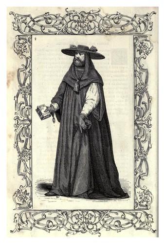 001-Vestimenta de Cardenal-Habiti antichi et moderni di tutto il mundo- Cesare Vecellio