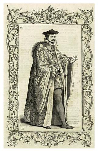 013-Rector de la Universidad de Padua siglo XVI-Habiti antichi et moderni di tutto il mundo- Cesare Vecellio
