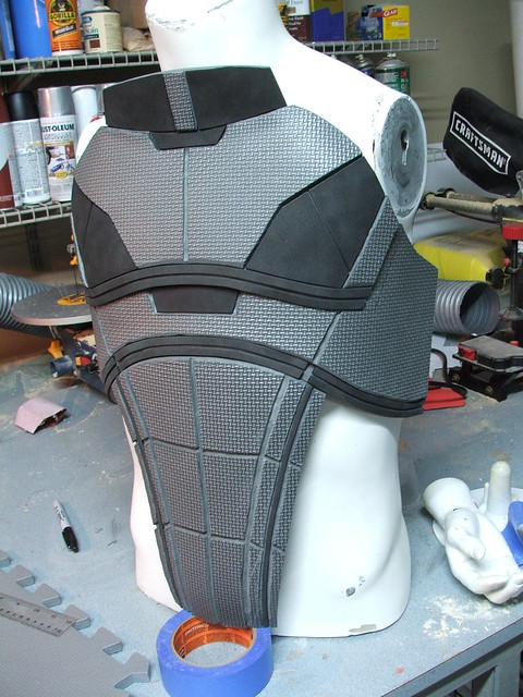 armor laser cut props n7 recap dragon con lathe lucky enough trade