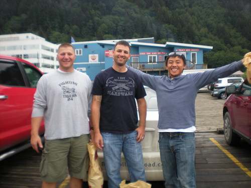 Rory, Chris and Nao in Juneau