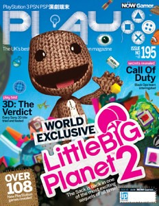 LittleBigPlanet 2: PLAY magazine cover