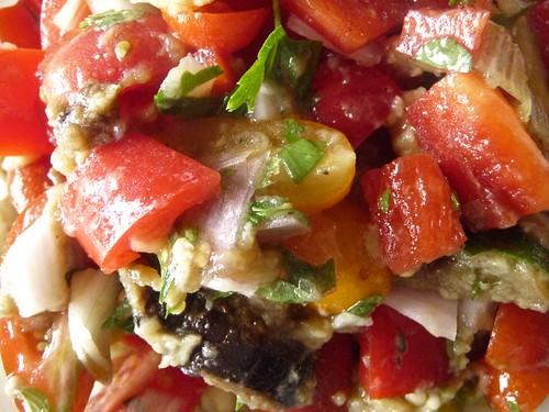 tomato aubergine salad ii