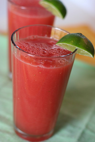 Watermelon Aguas Frescas