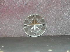 compass medallion (mikaplexus) Tags: west metal coin coins south w north n s medal east direction e directions medallion compass metalcompass