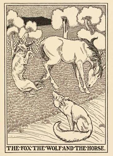 Vulpes, Lupus et Equus