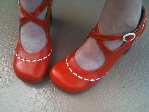 Also love? My new Fluevogs! *swoon*