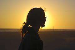 (fivefortyfive) Tags: sunset beach home girl silhouette hair glasses carlyn fivefortyfive thisisold lookatthisonblack ivetakenalotofpictureslatelybutidontreallylovethem staytunedforsomethingcomingup twodoorcinemaclubthisisthelife maggieannre