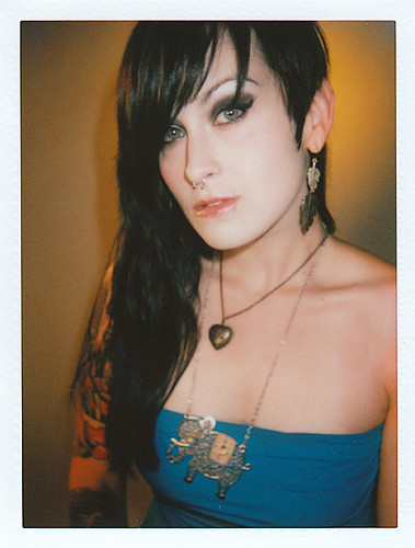 Desiree Saetia / Polaroid Portrait