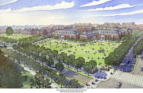 Hopkins Rendering of Belward Campus