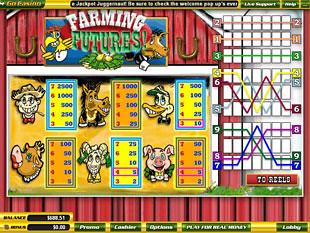 free Farming Futures slot mini symbol