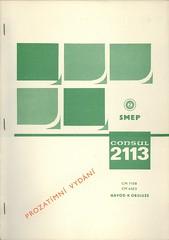 Consul 2113