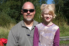 Greg Yoder with Nastya in 2010.