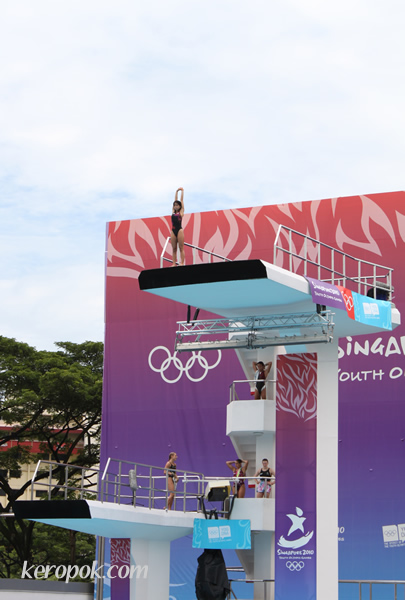 Diving Event at YOG