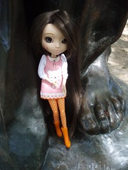 August in Paris (Me&Maruschka) Tags: paris boots musee pullip latte rodin leeke laboutiquedelupi rewigged