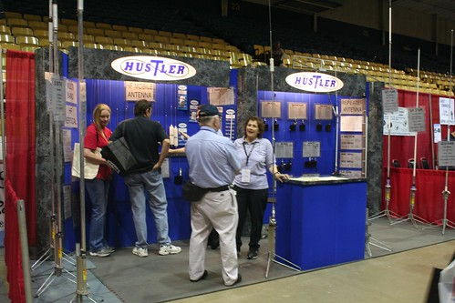 "Hustler antennas at Dayton Hamvention • <a style=""font-size:0.8em;"" href=""http://www.flickr.com/photos/10945956@N02/4923928139/"" target=""_blank"">View on Flickr</a>"