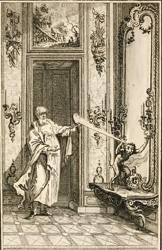 Simius et Speculum