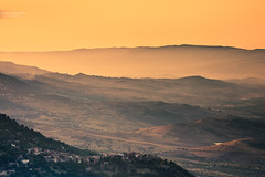 One summer evening in the mountains (Marc Benslahdine) Tags: light sunset montagne landscape soleil kabylie lumire altitude explorer frog explore lumiere paysage brouillard coucherdesoleil montagnes lightroom explored lumiredusoir tamronspaf1750mmf28xrdiii canoneos50d marcopix tripax marcbenslahdine agoussim grandkabylie bruhme wwwmarcopixcom wwwfacebookcommarcopix marcopixcom