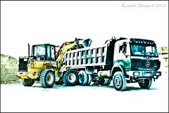 Truck - HDR (Kuwaiti Snaps) Tags: snaps kuwait hdr kuwaiti 2010