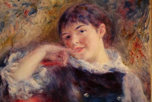 the dreamer by Renoir