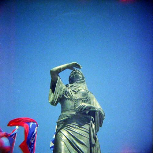Bouboulina's statue, Spetses