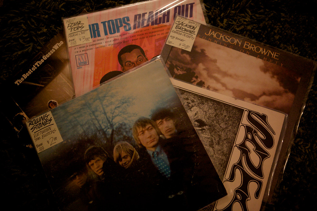237/365: New Old Records