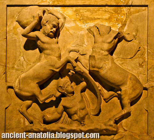 The Battle of Centaurs and Lapiths