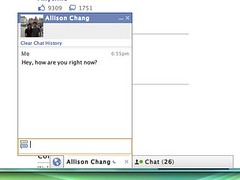 Facebook Chat conversation