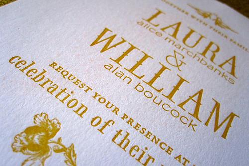 Laura & Billy's Wedding Invites