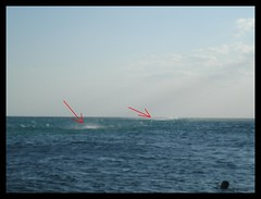 Samothrace, wind effect on Thracian sea